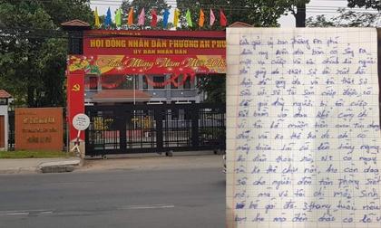 Tên cướp trả lại 100 triệu đồng, viết thư tay 3 trang giấy hối lỗi với nạn nhân