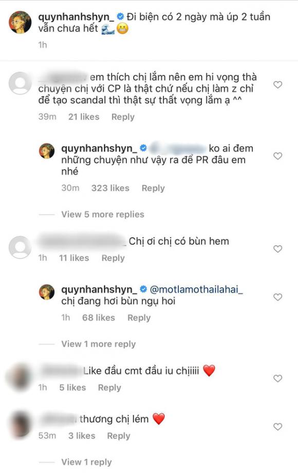 Trả lời fan về tin đồn tạo scandal với Chi Pu, Quỳnh Anh Shyn ngầm khẳng định chị em 'toang' vì thiếu gia là thật? - 3