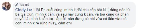 Bảo Ngọc khẳng định không nhận bất cứ 1 đồng trợ cấp nào từ Hoài Lâm: 'Tôi không rẻ rúng!' - 1