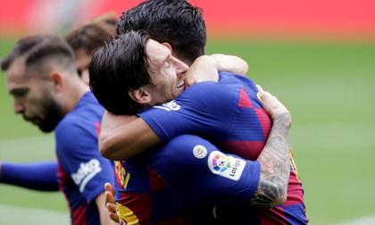 Suarez lập cú đúp, Barca vẫn mất điểm ở phút 88