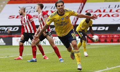 Arsenal nhọc nhằn vào bán kết FA Cup