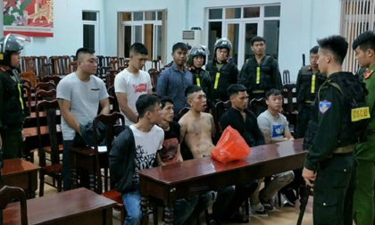 Bắt 12 người trong vụ hỗn chiến trong đêm ở Đắk Lắk