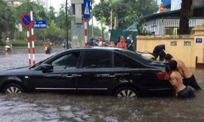 Hà Nội và nhiều tỉnh phía Bắc đón mưa dông lớn sau đợt nắng nóng đặc biệt gay gắt
