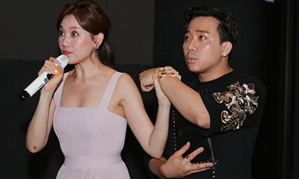 """Trấn Thành """"ghen lồng lộn"""" khi thấy vợ ăn mặc quá sexy, phản ứng của Hari Won sau đó mới bất ngờ"""