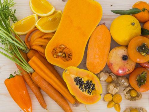 Những thực phẩm màu cam tốt cho sức khỏe của bạn