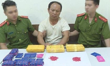 Sơn La: Bắt giữ đối tượng vận chuyển 30.000 viên ma túy