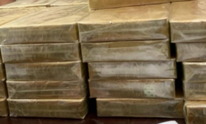 """Điện Biên: Bắt giữ 3 đối tượng vận chuyển khối lượng ma túy """"khủng"""""""