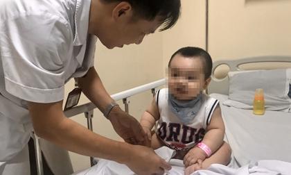 Tay chân miệng lây với tốc độ nhanh, nhiều trẻ ở Hà Nội mắc bệnh