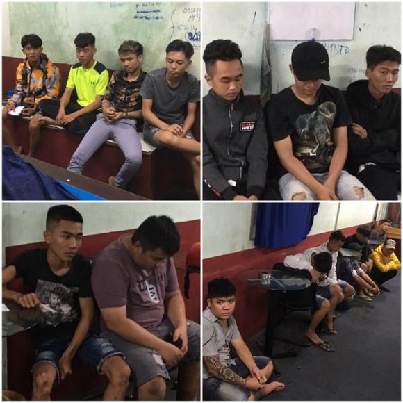 49 nam nữ từ các tỉnh về Tiền Giang tranh tài đua xe thì bị bắt - Ảnh 1.