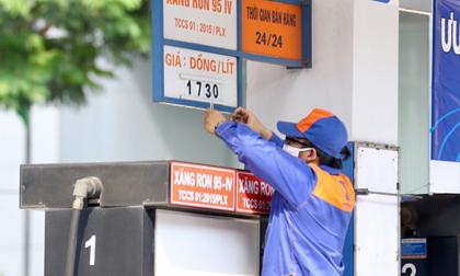 Giá xăng không đổi