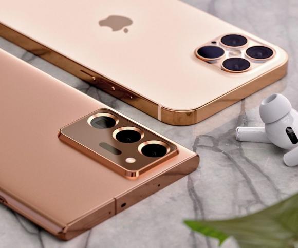 iPhone 12 Pro đối đầu với Galaxy Note20 Ultra trong bộ ảnh concept - 2