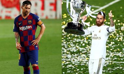 Messi thất vọng trong ngày Real nâng cao chức vô địch