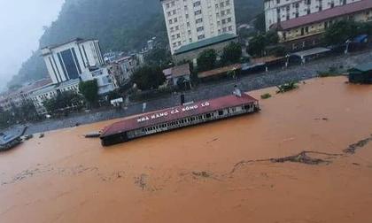 Mưa lớn gây ngập úng ở Hà Giang, Lào Cai, ít nhất 2 người thiệt mạng