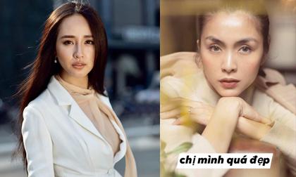 Xinh đẹp là vậy nhưng Mai Phương Thúy vẫn phải si mê trước vẻ đẹp của Hà Tăng