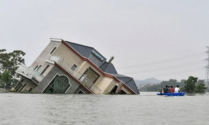 Trung Quốc lo sợ tái diễn thảm họa lũ lụt 'Thiên nga đen'