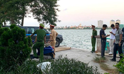 Hà Nội: Bàng hoàng phát hiện thi thể cô gái nổi trên mặt Hồ Tây