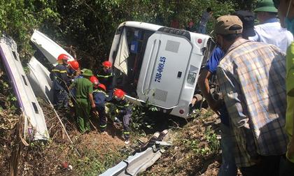 Khởi tố vụ lật xe kinh hoàng làm 15 người chết ở Quảng Bình