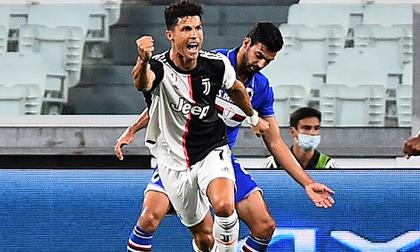 Ronaldo tỏa sáng giúp Juventus vô địch Serie A sớm 2 vòng