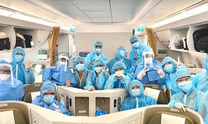 Chuyến bay đón 129 bệnh nhân Covid-19 ở Guinea Xích đạo đã cất cánh