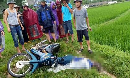Thái Nguyên: Đi xe máy dưới trời mưa, một người đàn ông bị sét đánh tử vong