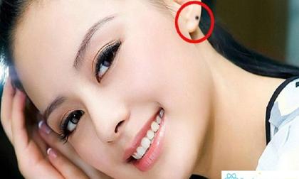 Trong nhân tướng học có 4 nốt ruồi 'vượng phu ích tử', phụ nữ nào sở hữu là may mắn trọn đời
