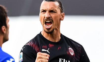 Ibrahimovic lập kỳ tích giúp Milan giành vé dự cúp châu Âu
