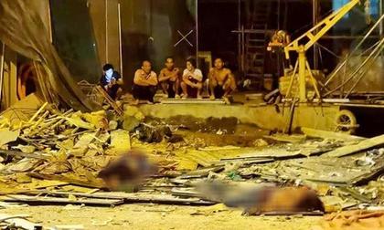Hà Nội: Sập giàn cẩu kính khiến 3 người tử vong, 1 người bị thương phải cấp cứu