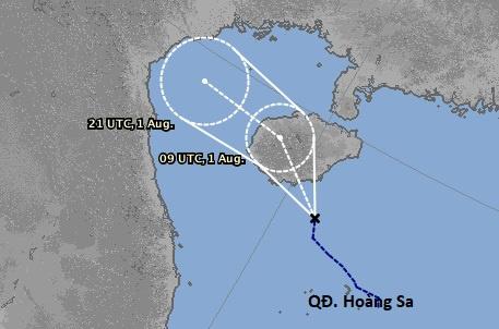 Miền Bắc có thể đón bão trong 2 ngày tới - 1