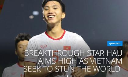 FIFA 'Đoàn Văn Hậu là một trong những cầu thủ trẻ tài năng nhất châu Á'