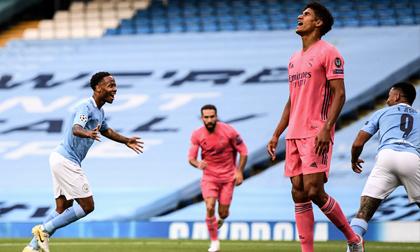 Varane mắc 2 sai lầm khó tin, Man City 'đá bay' Real Madrid khỏi Champions League