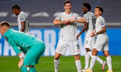 Hàng công thi nhau nổ súng, Bayern vùi dập Barca với tỷ số kinh hoàng 8-2