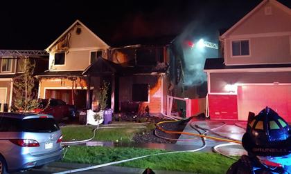 5 người trong gia đình gồm cả bé sơ sinh bị thiêu chết trong vụ hỏa hoạn kinh hoàng, hình ảnh về 3 nghi phạm gây ám ảnh