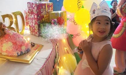 Con gái Mai Phương đón sinh nhật đầu tiên không còn mẹ, hình ảnh hồn nhiên của bé khiến nhiều người xúc động