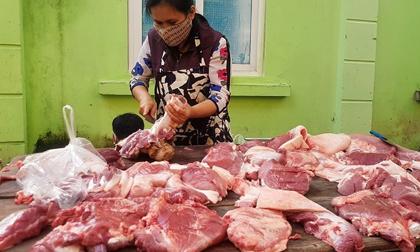 Giá thịt lợn hơi giảm xuống dưới 80.000 đồng/kg