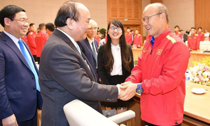 HLV Park Hang-seo vinh dự được trao tặng Huân chương Lao động hạng Nhì