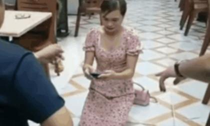 Vợ chủ quán nhắng nướng Hiền Thiện tới tận nhà cô gái bị chồng ép quỳ để xin lỗi