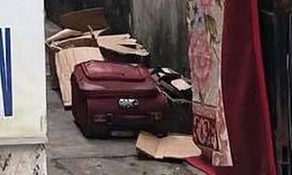 Phát hiện thi thể bé trai trong chiếc vali bí ẩn bốc mùi