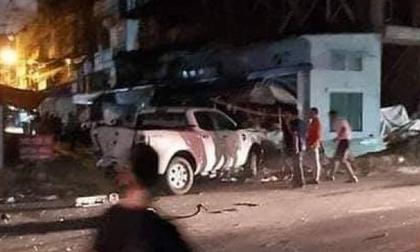 Khởi tố tài xế Lexus tông chết công an