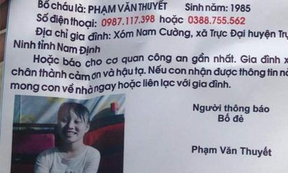 Nam Định: Bố cầu cứu cộng đồng mạng tìm kiếm con gái 14 tuổi mất tích bí ẩn