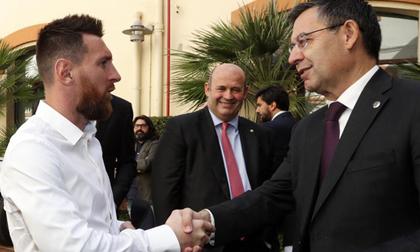 Barcelona và Messi thương thảo bất thành, lún sâu khủng hoảng