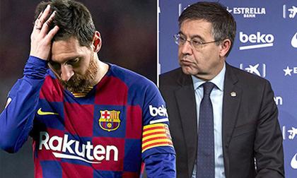 Chủ tịch Barca bị cảnh sát cáo buộc tội tham nhũng, dùng tiền để bôi nhọ Messi