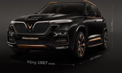 VinFast President liên tục 'nhá hàng' trước giờ G: Kích thước lớn, động cơ khủng, nội thất khác hẳn Lux SA2.0