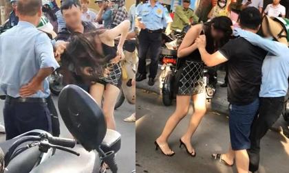 Vụ chồng chở bồ nhí trên Lexus LX 570 bị vợ lao vào đánh ghen: Công an vào cuộc điều tra