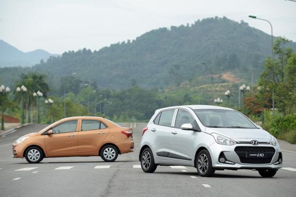 Hyundai Grand i10 trở lại ngôi đầu phân khúc xe hạng A - 1