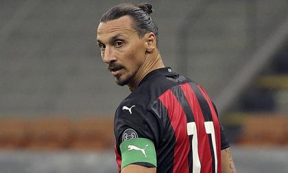 Zlatan Ibrahimovic dương tính với Covid-19