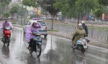 Thời tiết ngày 27/9: Bắc Bộ có mưa rào và dông