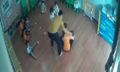 Nam phụ huynh giật tóc, tát thẳng vào mặt bé gái 2 tuổi ngay tại trường mầm non