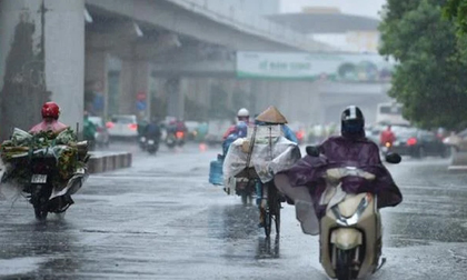 Thời tiết ngày 1/10: Bắc Bộ mưa rào và dông diện rộng