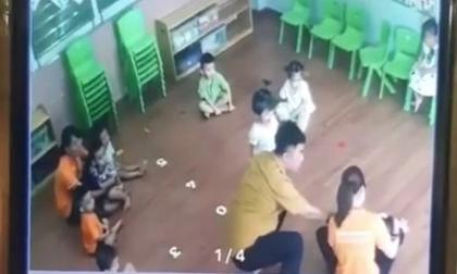 Đình chỉ 3 giáo viên để bé 2 tuổi bị bố bạn học hành hung