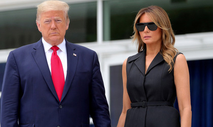 Tổng thống Mỹ Donald Trump và Đệ nhất phu nhân Melania Trump nhiễm Covid-19